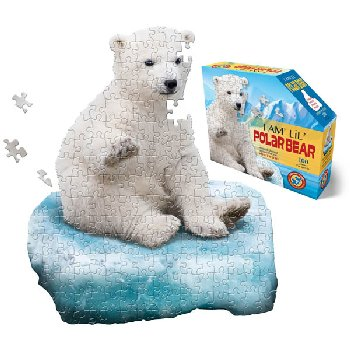 I Am Lil' Polar Bear Puzzle 100 Pieces (Madd Capp Puzzles Jr.)