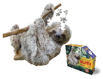 I Am Lil' Sloth Puzzle 100 Pieces (Madd Capp Puzzles Jr.)