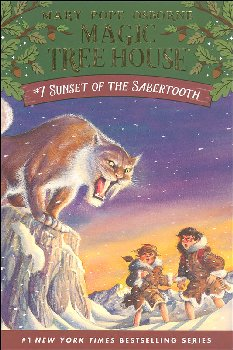Sunset of the Sabertooth (Magic Tree House #7