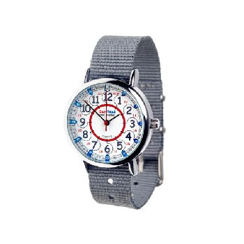 EasyRead Time Teacher 24 Hour Watch - Grey Strap