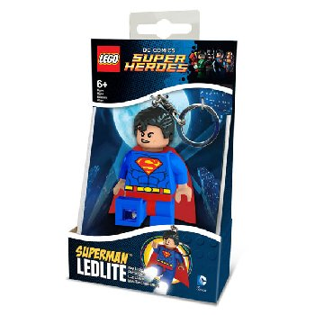 LEGO DC Super Heroes Superman Key Light