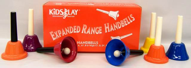 Handbells - Expanded Range set of 7