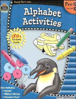 Alphabet Activities (Ready, Set, Learn)