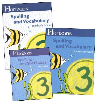 Horizons Spelling & Vocabulary 3 Complete