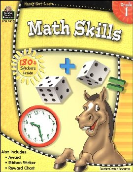 Math Skills Grade 1 (Ready, Set, Learn)