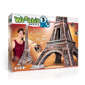 Eiffel Tower 3D Puzzle (816 pieces)