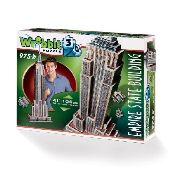 Empire State Building 3D Puzzle (975 pieces)