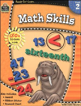 Math Skills Grade 2 (Ready, Set, Learn)