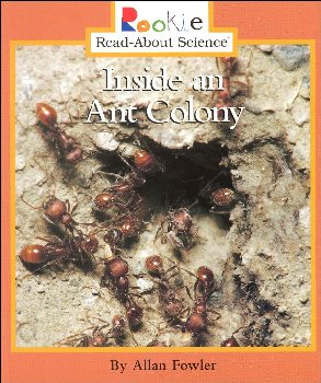 Inside an Ant Colony (Rookie Read-About Scien