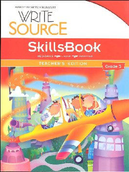 Write Source (2012 Edition) Grade 3 SkillsBook Teacher
