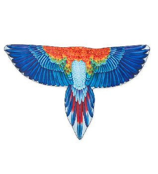 Brainy Bird Wings - Macaw