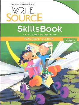 Write Source (2012 Edition) Grade 4 SkillsBook Teacher