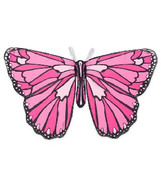 Colorful Butterfly Wings - Pink