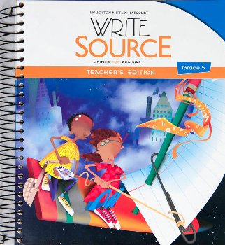 Write Source (2012 Edition) Grade 5 Teacher's Edition