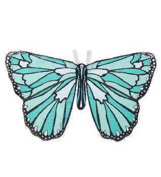 Colorful Butterfly Wings - Teal