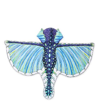 Hooded Dragon Wings - Frost Blue