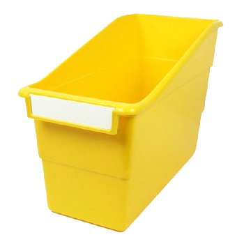 Tattle Shelf File - Yellow