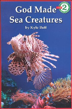 God Made Sea Creatures (Early Reader-Level 2)