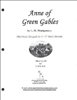 Anne of Green Gables Mini-Guide with Reproducibles