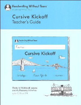 Cursive Kickoff Teacher's Guide
