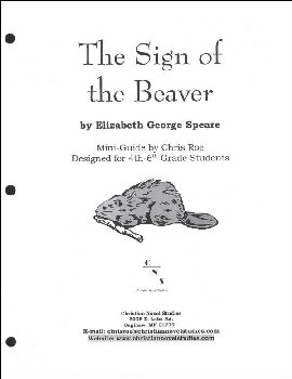 Sign of the Beaver Mini-Guide with Reproducibles