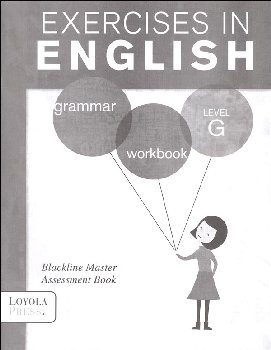 Exercises in English 2013 Level G Assessment Book