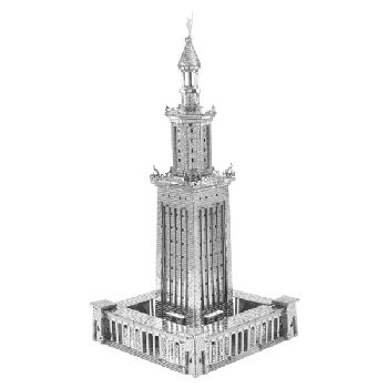 Lighthouse of Alexandria ICONX Metal Earth 3D Model