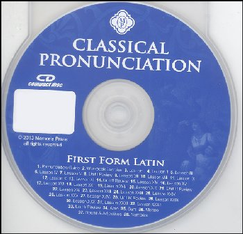 First Form Latin Classical Pronunciation CD