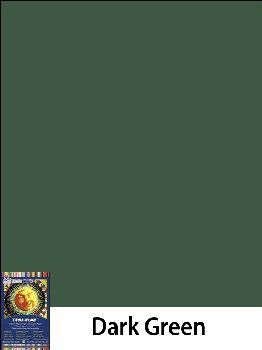 "Construction Paper Fade-Resistant 9"" x 12"" Dark Green"