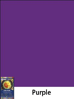 "Construction Paper Fade-Resistant 9"" x 12"" Purple"