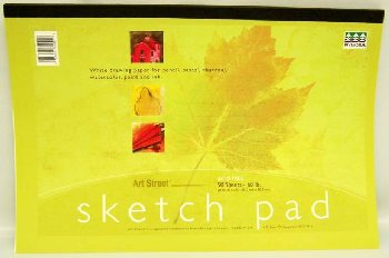 "Sketch Pad 18"" x 12"" 50 sheets"