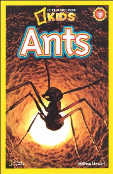 Ants (National Geographic Reader Level 1)