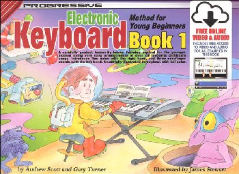 Keyboard for Young Beginners Book 1 w/ Online Audio & Video