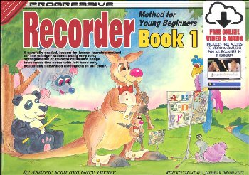 Recorder for Young Beginners Book 1 with Online Video & Audio