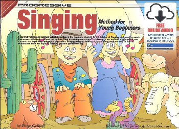 Singing for Young Beginners w/ Online Video & Audio