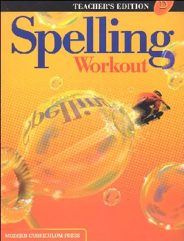 Spelling Workout 2001 Level D Teacher Edition