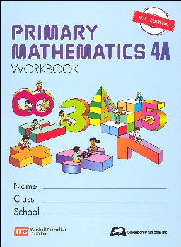 Primary Math US 4A Workbook