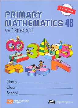 Primary Math US 4B Workbook