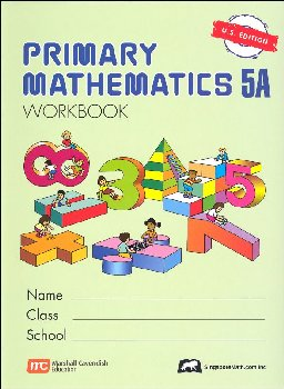 Primary Math US 5A Workbook
