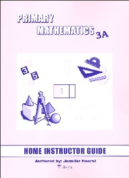 Primary Math US 3A Home Instructor Guide
