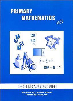 Primary Math US 4B Home Instructor Guide