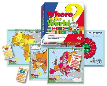 Where in the World? Compete World Awareness Game