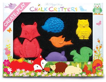 Chalk Critters - Fox & The Woodland Animals