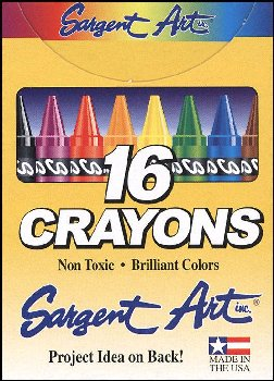 Crayons - 16 in box