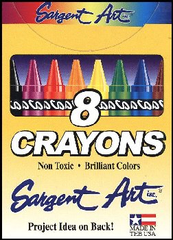 Crayons - 8 in box