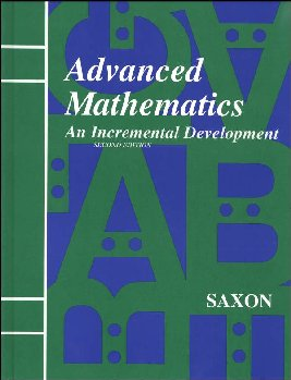 Saxon Advanced Math 2ED Student Text Only