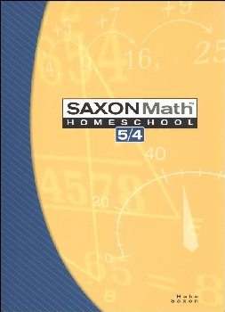 Math 5/4 Homeschool Student Edition (3rd Edition)