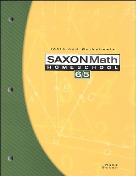 Math 6/5 Homeschool Tests and Worksheets (3rd Edition )