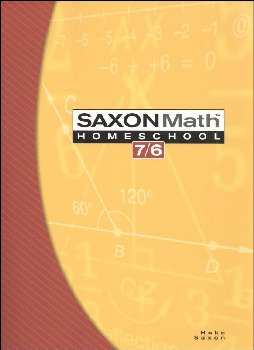 Math 7/6  Homeschool Student Edition (4th Edtion)