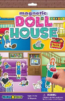 Doll House Magnetic Playset